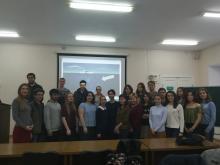 На Историческом факультете состоялся мастер-класс «Язык и культура» на английском языке