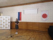 Нашу студентку отметили на конкурсе устных выступлений на японском языке
