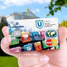 Внимание, первокурсники бакалавриата и магистратуры! Вы можете получить кампусную карту ТГУ от Газпромбанка